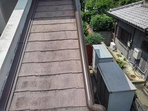 堺市南区にて樋修理工事