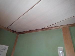 瓦屋根の雨漏り修理調査