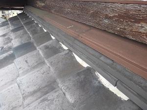 池田市・水切り熨斗瓦からの雨漏り