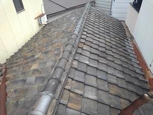生野区の瓦屋根修理・雨漏り修理