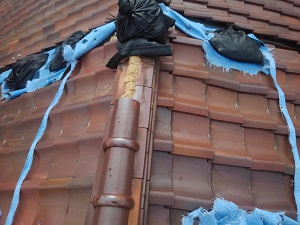 大阪市住吉区お屋根修理調査