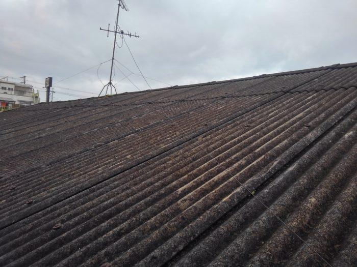 松原市のスレート屋根修理