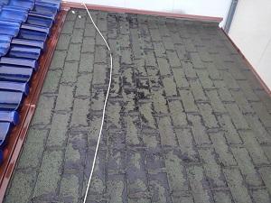 高槻市のアスファルトシングル屋根修理調査