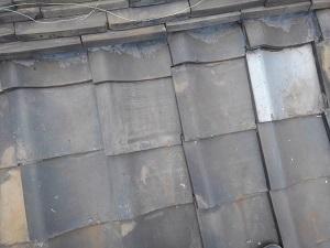 東大阪市の瓦屋根雨漏り修理