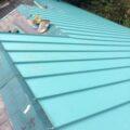 板金屋根工事・スレート屋根からガルバニウム鋼板屋根へ
