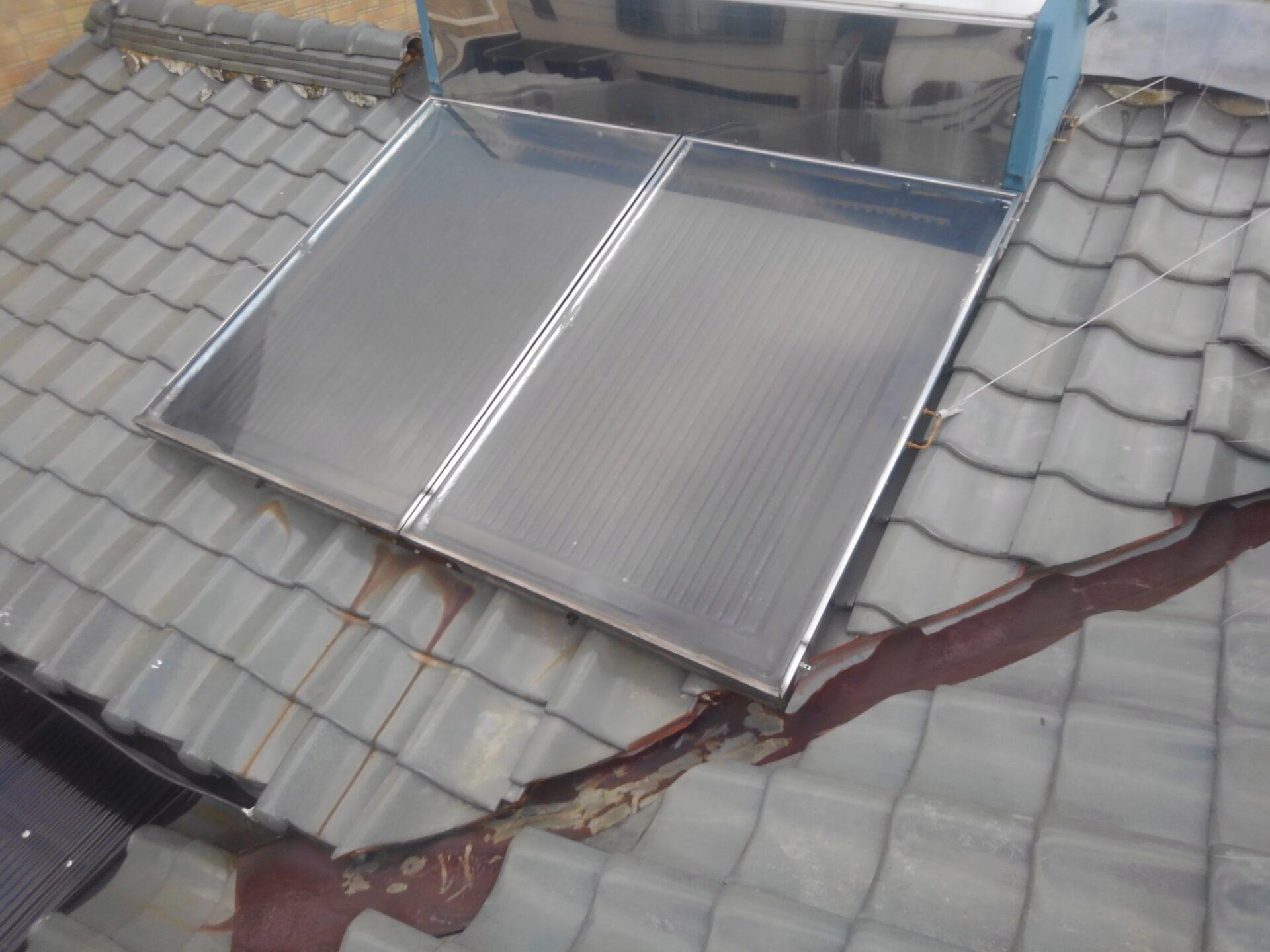 吹田市の瓦屋根修理・雨漏り修理