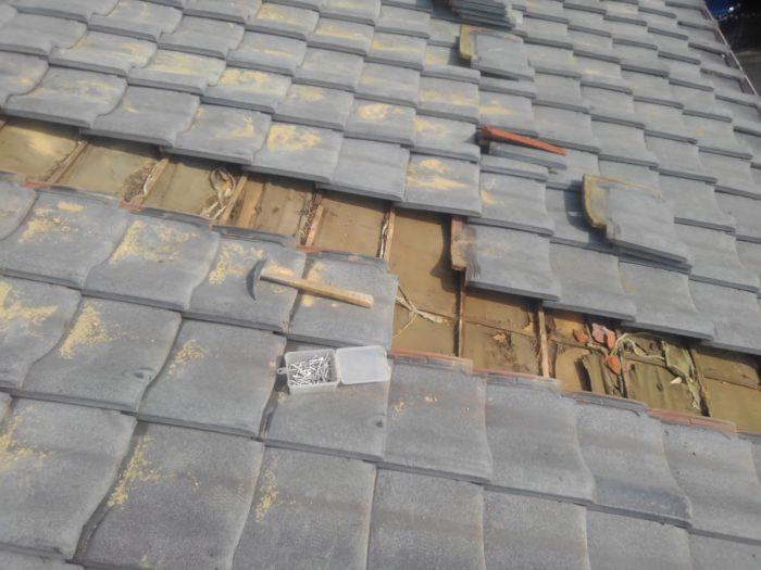 堺市の瓦屋根修理