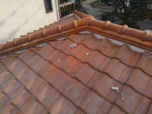 大阪府での雨漏り修理工事