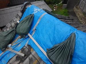 大阪府での屋根修理工事