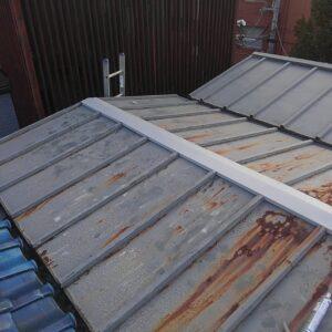 大阪府の板金屋根修理工事