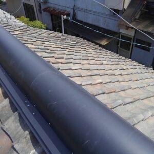 奈良県での瓦屋根雨漏り修理工事