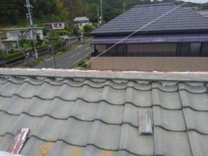 奈良県の瓦屋根修理工事
