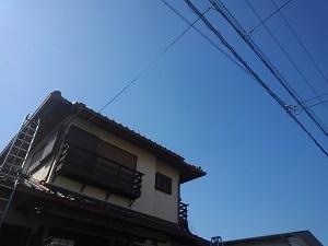 屋根修理工事は一期一会