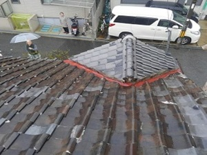 躯体年数が経ち屋根の軽量化を望む御声