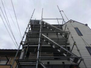 高槻市での屋根修理工事