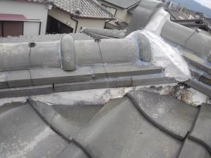 伊丹市の雨漏り修理調査