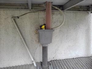 守口市の雨漏り修理調査