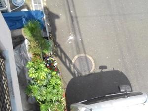 高槻市の漆喰滑落調査