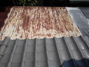 大阪市北区の天窓修理調査