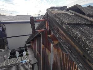 岸和田市の雨漏り修理・屋根修理