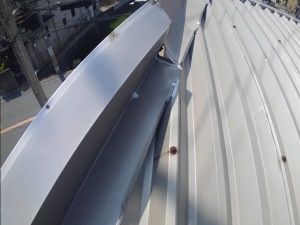 岸和田市板金屋根修理調査
