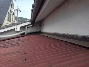 東大阪での屋根修理調査