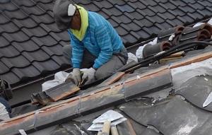 吹田市の瓦屋根修理・屋根工房きのしたの兄ぃ蝶の様に迷いハッチも真っ青の迷子っぷり