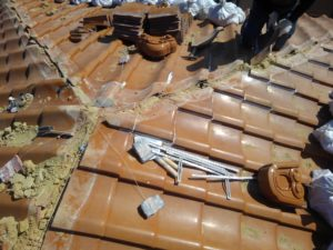 茨木市の瓦屋根修理工事