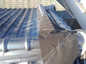 芦屋市の雨漏り修理工事