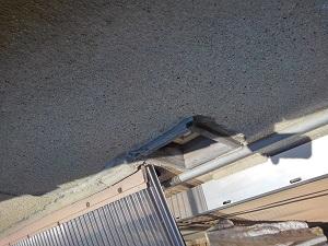 寝屋川市での雨漏り修理調査