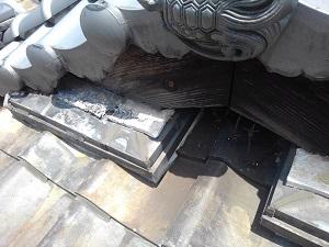 京都府での雨漏り修理調査