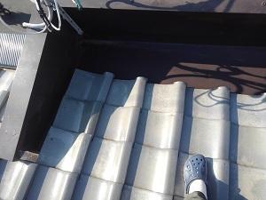 守口市での雨漏り修理調査